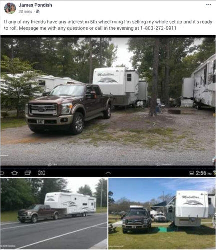 2005 McKenzie Medallion 5th Wheel and Truck Combo For Sale