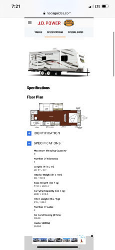 2013 Forest River Wildwood 26TBSS For Sale