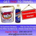 Get Paid To Travel – Quick n Brite Sales Position